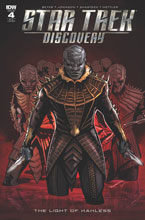 Image: Star Trek: Discovery: The Light of Kahless #4 (incentive cover A - Angel Hernandez) (10-copy) - IDW Publishing