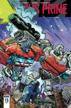 Image: Optimus Prime #15 (incentive cover - Brendan Cahill) (10-copy)  [2018] - IDW Publishing