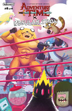 Image: Adventure Time / Regular Show #6 (subscription cover - Bayliss) - Boom! Studios
