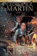 Image: George R. R. Martin's A Clash of Kings #8 (cover A - Miller) - Dynamite