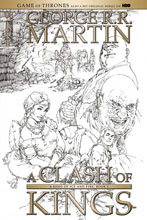 Image: George R. R. Martin's A Clash of Kings #8 (cover D incentive - Rubi) (15-copy) - Dynamite