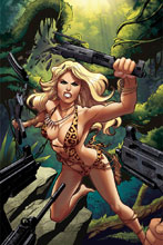 Image: Sheena Queen of the Jungle #5 (cover G incentive - Sanapo Virgin) (25-copy) - Dynamite