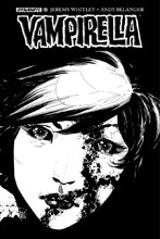 Image: Vampirella Vol. 04 #11 (cover F incentive - Tan B&W) (20-copy) - Dynamite