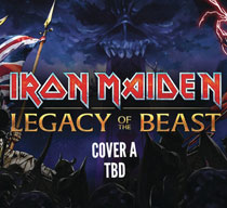 Image: Iron Maiden: Legacy of the Beast #4 (cover A - Fleming) - Heavy Metal Magazine