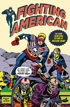 Image: Fighting American #4 (cover B - Kirby)  [2018] - Titan Comics