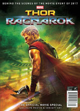 Image: Thor: Ragnarok - The Official Movie Special  (newsstand cover) - Titan Comics