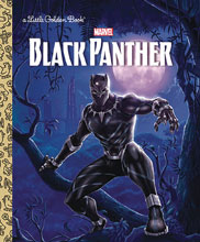 Image: Black Panther Little Golden Book HC  - Random House Books For Young R