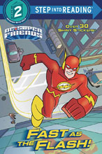 Image: DC Super Friends: Fast as the Flash SC  (Young Readers) - Random House Books For Young R