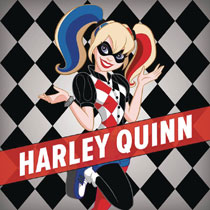 Image: DC Super Hero Girls: Harley Quinn at Super Hero High HC  (Young Readers) - Random House Books For Young R