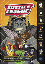 Image: Justice League: Gorilla Grodd and the Primate Protocol SC  - Capstone Press