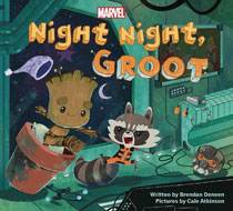 Image: Night Night Groot Board Book  - Marvel Press