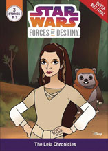 Image: Star Wars: Forces of Destiny - The Leia Chronicles SC  - Disney Lucasfilm Press