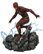 Image: JLA Movie Gallery PVC Figure: Flash  - Diamond Select Toys LLC