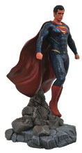 Image: DC Gallery PVC Diorama: Justice League Movie Superman  - Diamond Select Toys LLC