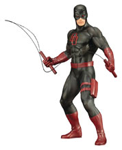 Image: Marvel Defenders Series ArtFX+ Statue: Daredevil  (Black Suit) - Koto Inc.
