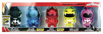 Image: Power Rangers Figural Keyring 5-Pack  (SDCC 2017 exclusive) - Monogram Products