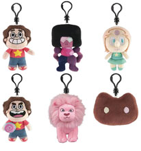 Image: Steven Universe Plush Clips 24-Piece Blind Mystery Box Display  - Ucc Distributing
