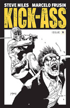 Image: Kick-Ass #11 (cover B - B&W)  [2019] - Image Comics