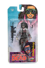 Image: Walking Dead Action Figure: Princess  (B&W Bloody) - Image Comics