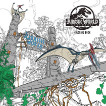 Image: Jurassic World: Fallen Kingdom Coloring Book SC  - Dark Horse Comics
