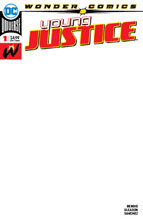 Image: Young Justice #1 (variant cover - Blank) - DC-Wonder Comics