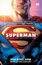 Image: Superman Vol. 01: The Unity Saga: Phantom Earth HC  - DC Comics