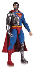 Image: DC Essentials Action Figure: Cyborg Superman  - DC Comics