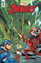 Image: Marvel Action: Avengers #2 (main cover - Sommariva) - IDW Publishing