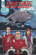 Image: Star Trek [IDW 2020]  (main cover - Woodward) - IDW Publishing