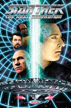 Image: Star Trek: The Next Generation - The Missions Continue HC  - IDW Publishing