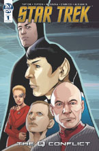 Image: Star Trek: Q Conflict #1 (cover A - Messina) - IDW Publishing