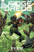 Image: Judge Dredd: Toxic #4 (cover A - Buckingham) - IDW Publishing
