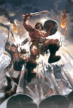 Image: Conan the Barbarian #1 (variant cover - Acuna) - Marvel Comics