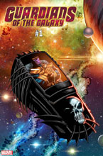 Image: Guardians of the Galaxy #1 (variant cover - Lim) - Marvel Comics