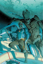 Image: Guardians of the Galaxy #1 (variant Artist cover - Esad Ribic) - Marvel Comics
