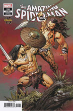 Image: Amazing Spider-Man #14 (variant Conan cover - Greg Land) - Marvel Comics