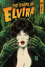 Image: Elvira: The Shape of Elvira #1 (cover A - Francavilla) - Dynamite