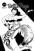 Image: Bettie Page Vol. 02 #3 (incentive cover - Williams B&W) (20-copy)  [2019] - Dynamite