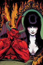 Image: Elvira: Mistress of the Dark #7 (incentive cover - Cermak virgin) (10-copy) - Dynamite