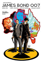 Image: James Bond 007 #3 (cover A - Johnson) - Dynamite