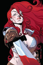 Image: Red Sonja Vol. 04 #25 (incentive cover - Williams virgin) (20-copy) - Dynamite