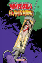 Image: Vampirella vs. Reanimator #2 (incentive cover - Seduction) (10-copy)  [2019] - Dynamite