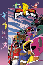 Image: Mighty Morphin Power Rangers #35 (variant Pre-Order cover - Gibson) - Boom! Studios