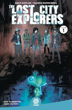 Image: Lost City Explorers Vol. 01: Odyssey SC  - Aftershock Comics