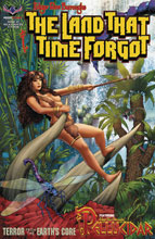 Image: Land That Time Forgot  (signed exclusive cover - KS) - American Mythology Productions