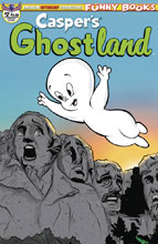 Image: Casper's Ghostland #2 (variant cover - Mount Ghostmore) - American Mythology Productions