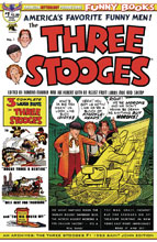 Image: AM Archives: Three Stooges #1 (variant cover - 1953 Saint John) - American Mythology Productions