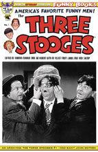 Image: AM Archives: Three Stooges #1 (variant cover - 1953 B&W Photo) - American Mythology Productions