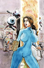 Image: Cavewoman: Markham's Mansion #1 (cover A - Massey) - Amryl Entertainment