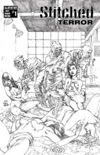 Image: Stitched Terror #1 (variant cover - Fifty Shades Torture) - Avatar Press Inc